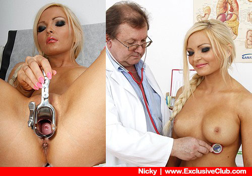 Super blonde in doctor porn HD video
